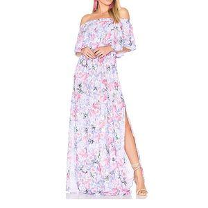 SMYM hacienda maxi dress in poppy daze